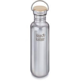 Klean Kanteen Reflect Bottle Bamboo Cap 800ml mirrored stainless
